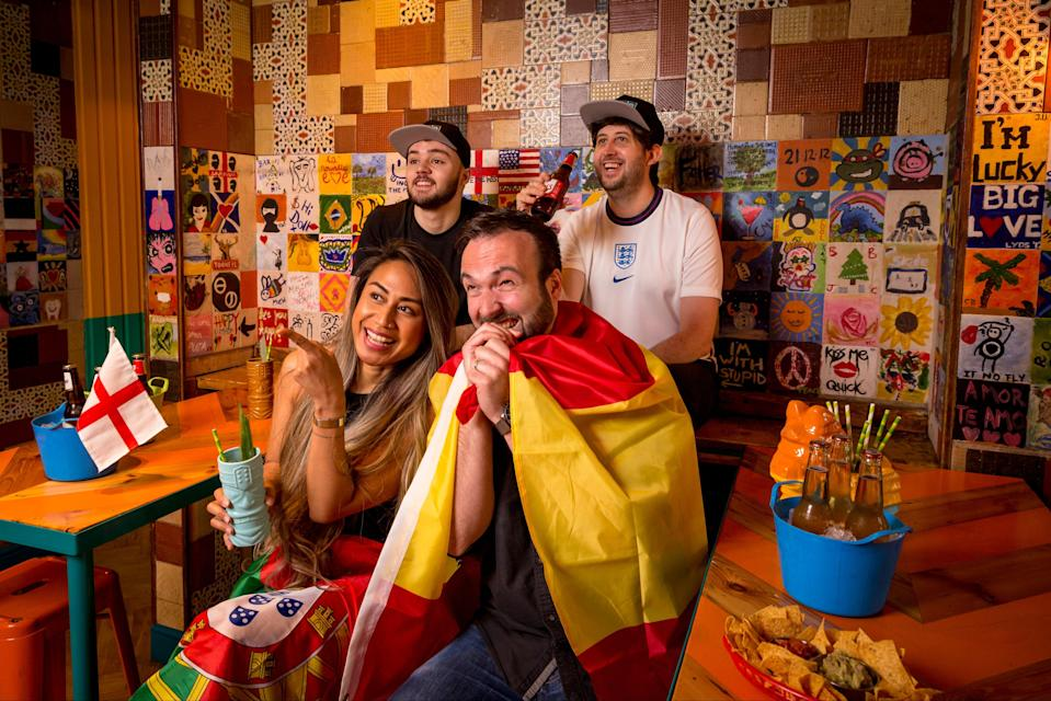 Kicking off: Barrio Bars will screen the biggest games through the month (Barrio Bars)