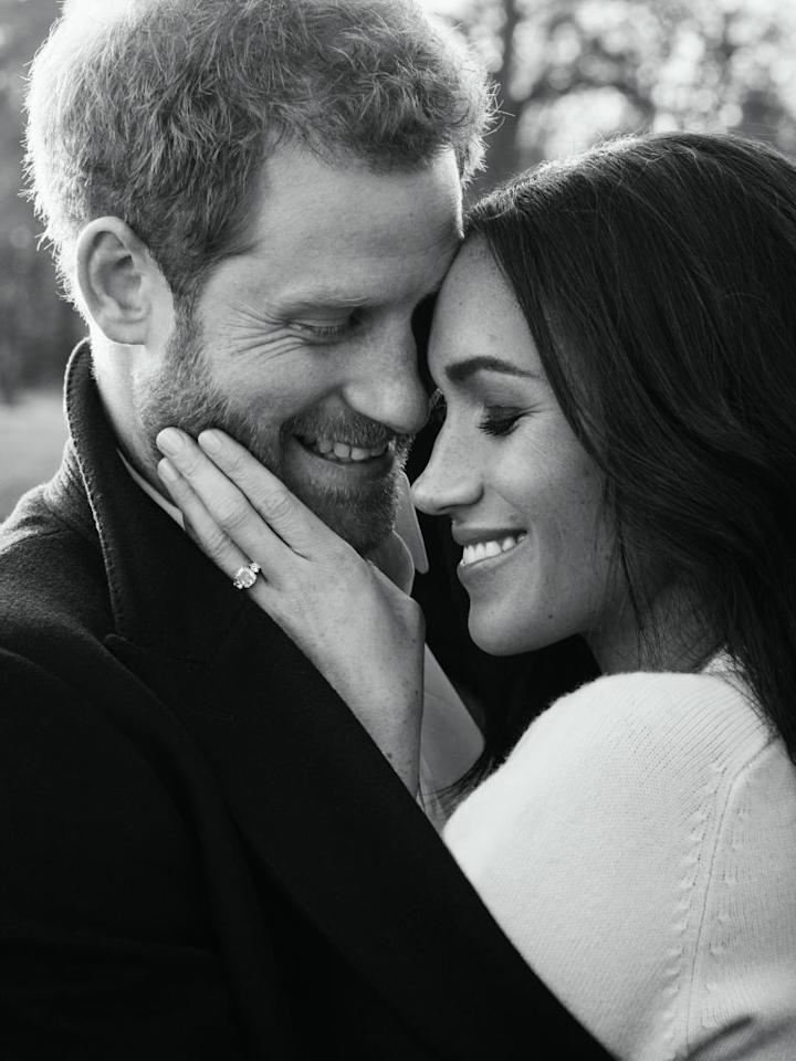 """<p>According to reports, Victoria Beckham and Meghan Markle have become firm friends ever since the former actress moved to London. And the designer has not only been quick to offer up her favourite beauty hotspots but has notably inspired the royal-to-be's wardrobe.<br />In her second engagement portrait, Meghan donned a knit by the designer's eponymous label.<br />A source revealed to <a rel=""""nofollow"""" href=""""https://www.vanityfair.com/style/2018/02/meghan-markle-victoria-beckham-fashion-advice""""><em>Vanity Fair</em></a>: """"Meghan really likes Victoria's style and was keen to pick her brains about pulling together a working wardrobe. She loves Victoria's elegant but smart dresses, so expect her to wear one very soon."""" <em>[Photo: Getty]</em> </p>"""