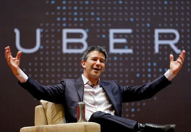 Uber's now-former CEO Travis Kalanick.