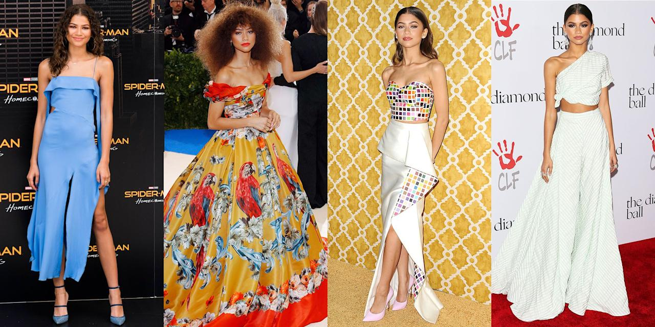 <p>Actress Zendaya Coleman may be just 22, but her style has been hitting the mark for <em>years</em>. See all her best looks, from her first Disney days to now.</p>