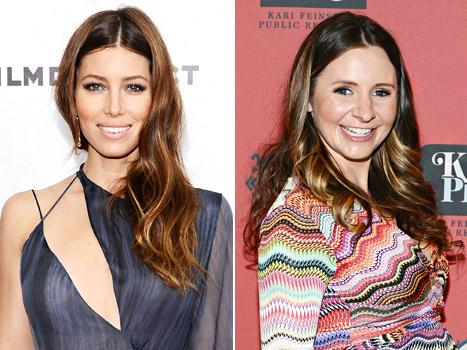 "Jessica Biel Jokes: Beverley Mitchell ""Wins"" for Having a Baby"
