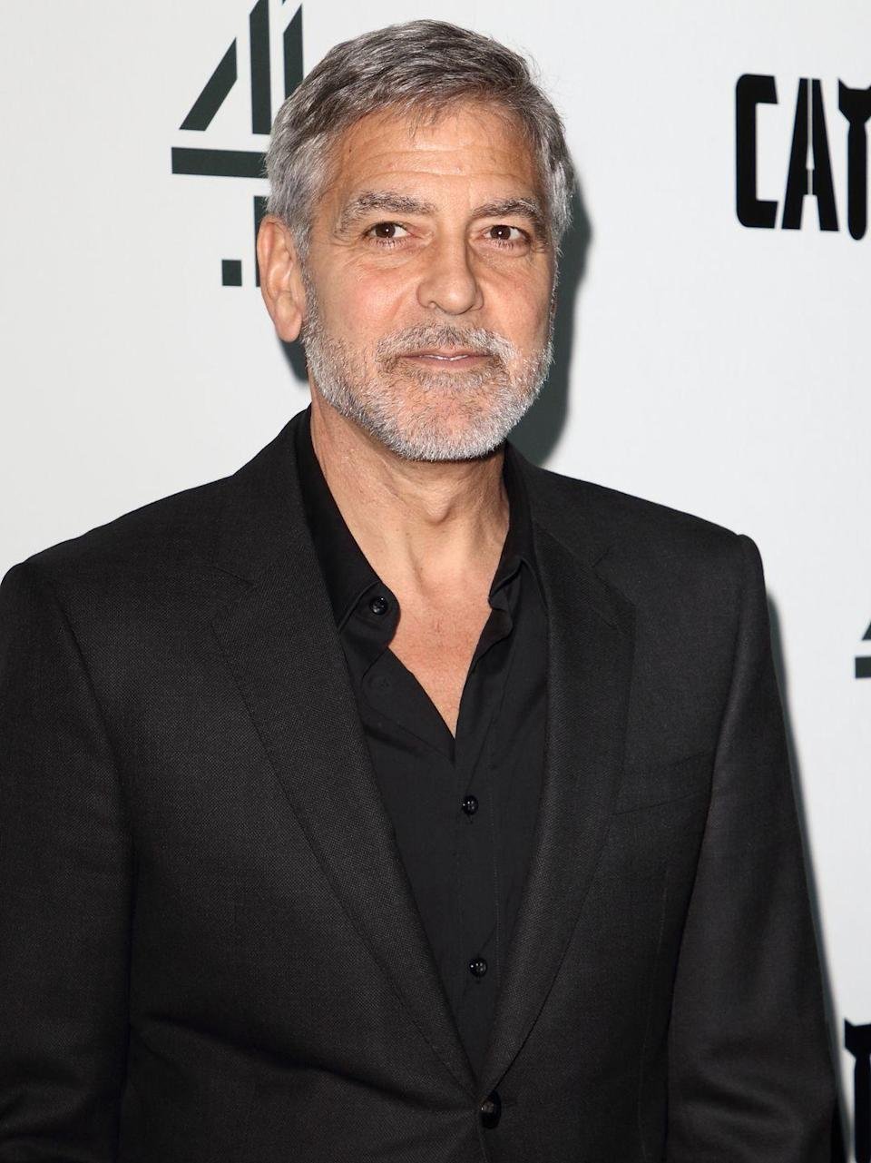 <p>The term silver fox was practically coined for Clooney. The actor embraced his graying hair when he was just at the start of his movie career and it has since become his signature style. </p>