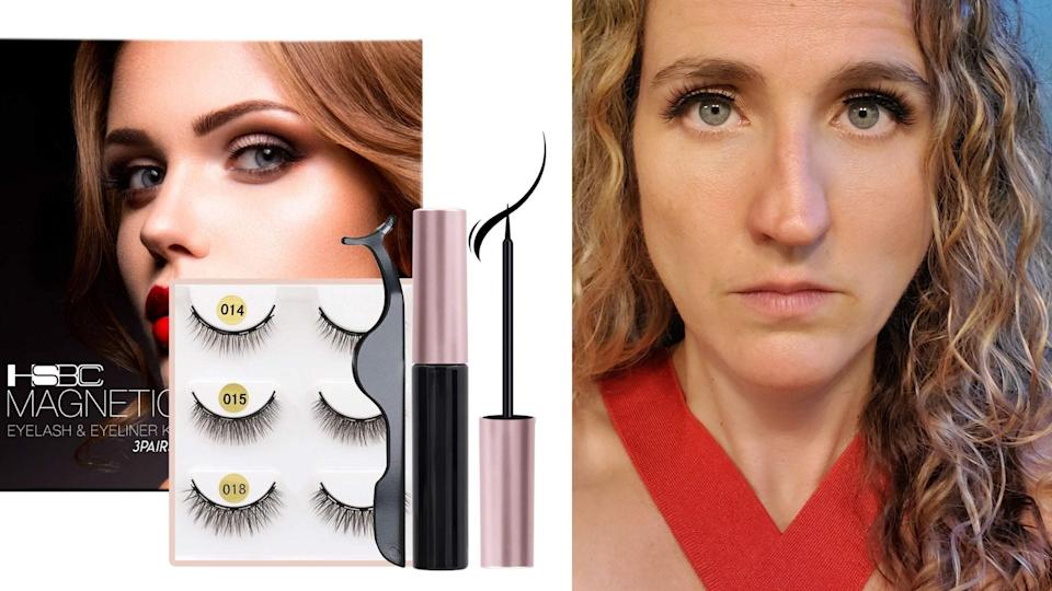 Best gifts for makeup lovers: Coolours Magnetic Eyeliner and Eyelashes