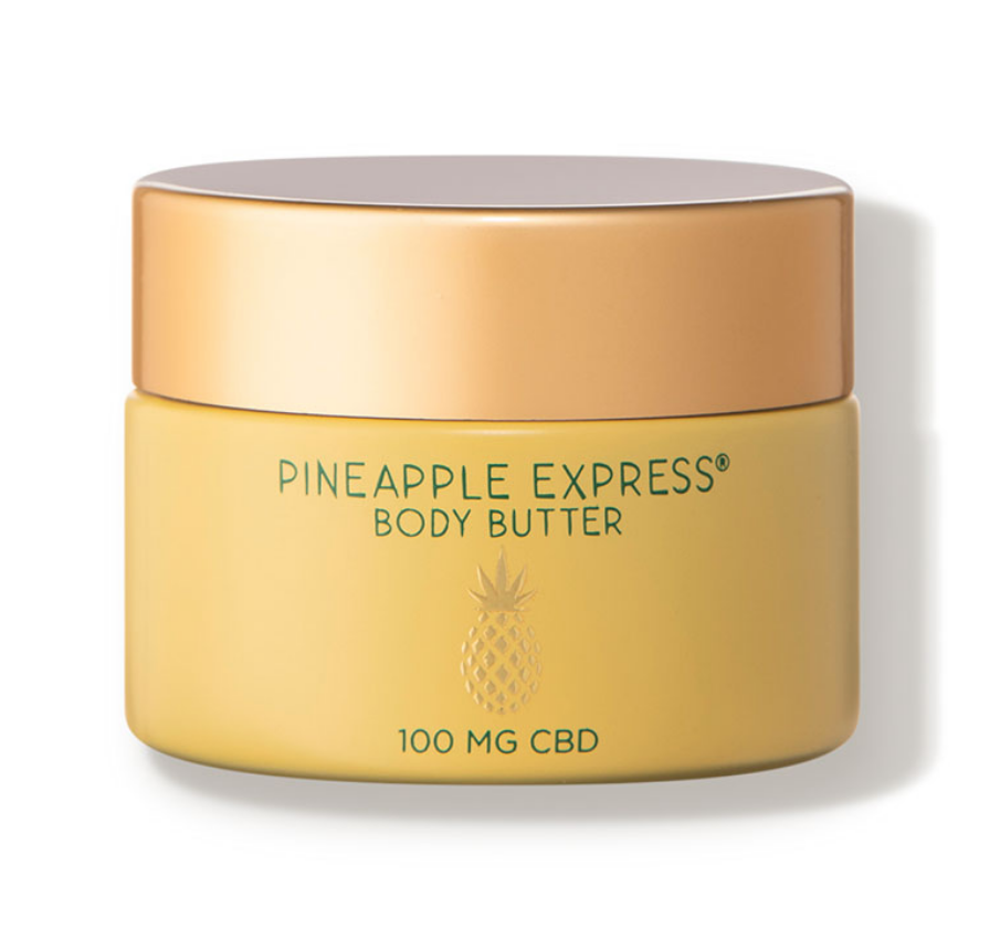 <p>Meant to address dry skin, eczema, and psoriasis, the South Seas Skincare Pineapple Express Body Butter is made with coconut oil, shea butter, and jojoba, as well as CBD. It's $39 at DermStore.com.</p>