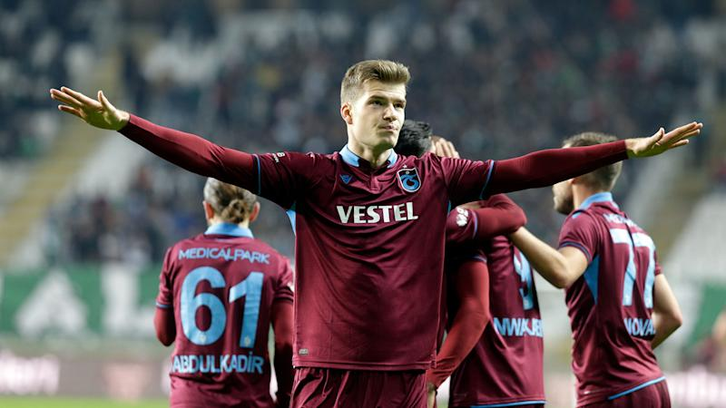 'Sorloth wants to go' - Trabzonspor resigned to losing striker as Tottenham join RB Leipzig in transfer chase