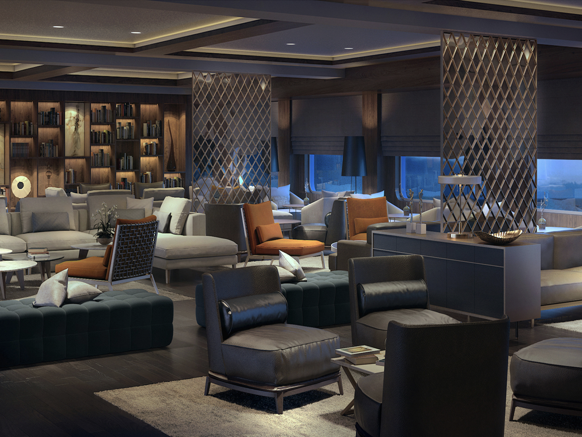 <p>Intimate spaces will be created for dining and drinking, and guests can go and eat whenever they wish, rather than the traditional set meal times that are so customary on cruises. (Business Insider) </p>