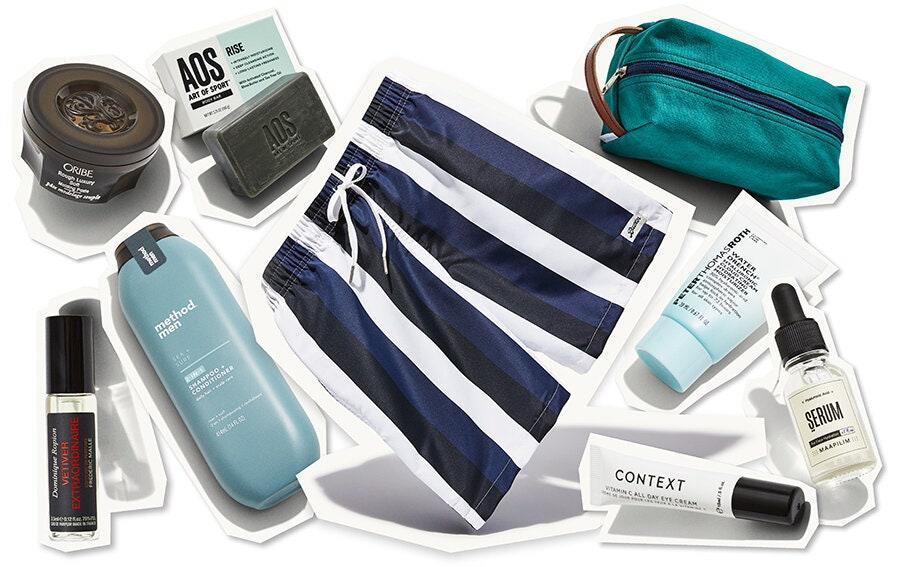 "<p>Treat your favorite father to the gift that literally keeps on giving. The <em>GQ</em> Best Stuff box comes to his doorstep quarterly, each packed with a collection of <em>GQ</em> editors' favorite products valued at $200+. The Summer 2020 Box includes a pair of <a href=""https://bather.com/"" rel=""nofollow noopener"" target=""_blank"" data-ylk=""slk:Bather swim trunks"" class=""link rapid-noclick-resp"">Bather swim trunks</a> (specifically, a code to redeem a pair in your size), electronics, grooming products, and accessories. </p> <p><strong>$50 per quarterly box</strong> (<a href=""https://beststuffbox.gq.com/?source=GQP_EDT_ALL_DAD_DAY_GG"" rel=""nofollow noopener"" target=""_blank"" data-ylk=""slk:Shop Now"" class=""link rapid-noclick-resp"">Shop Now</a>)</p>"