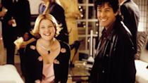 <p> Jilted wedding singer Robbie Hart (Adam Sandler) befriends waitress Julia Sullivan (Drew Barrymore) during the run-up to her wedding to prized idiot Glenn Gulia (Matthew Glave). With Robbie's help finalising the details for the big day, the two grow closer. Julia thinks she might be marrying the wrong man, a feeling Robbie soon shares as he uncovers Glenn's infidelity... </p> <p> This is Sandler at his absolute best: funny, compassionate and inherently likeable. Twinned with Barrymore's charming and goofy Julia, the pair's crazy chemistry harks back to Hollywood's golden era. </p>
