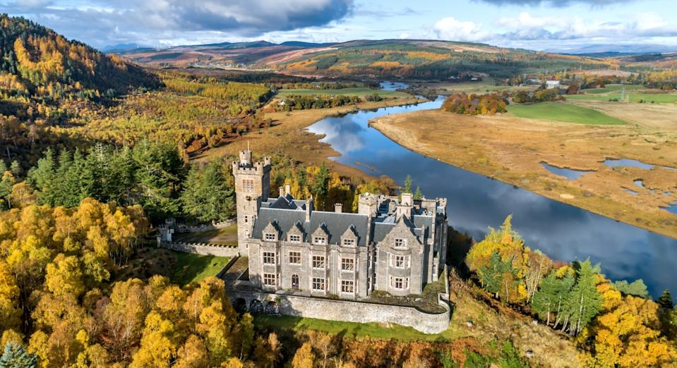 The castle was a youth hostel until 2011 (SWNS)