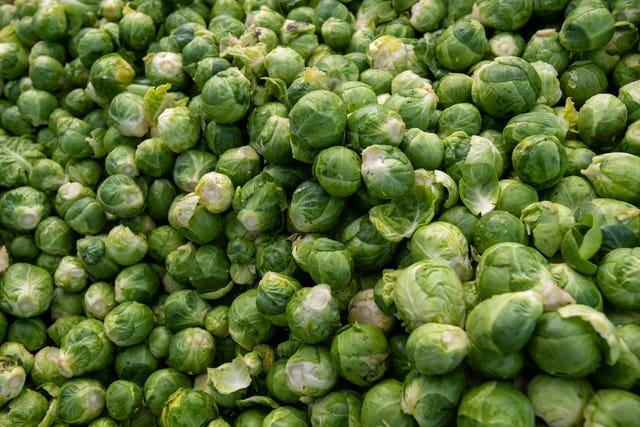 Brussels sprouts (Joe Giddens/PA)
