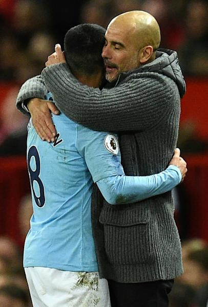 Pep Guardiola's Manchester City are favourites to retain their Premier League title