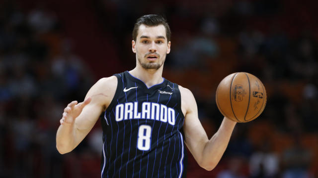 Magic guard Mario Hezonja will be a free agent this offseason. (AP)