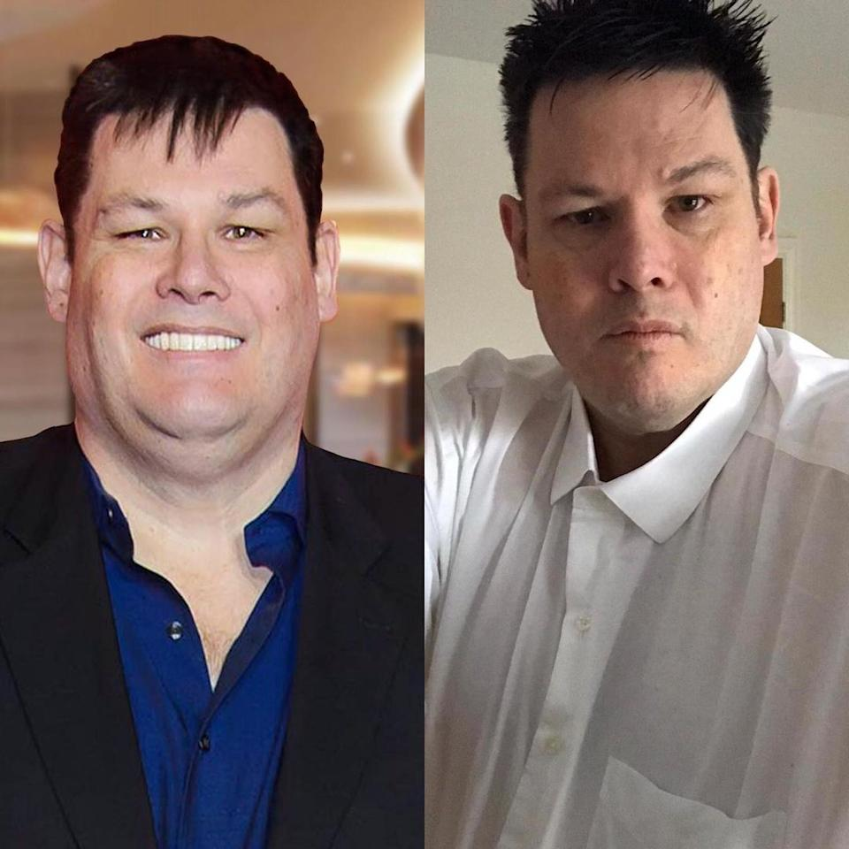 Mark Labbett before and after weight loss