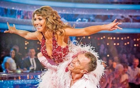 Alex on Strictly Come Dancing with James Jordan in 2011 - Credit: Handout