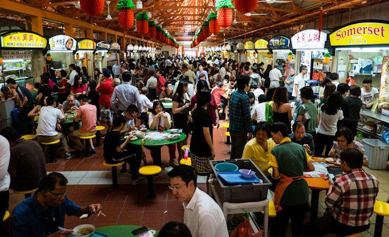Maxwell Food Centre. (Getty Images file photo)