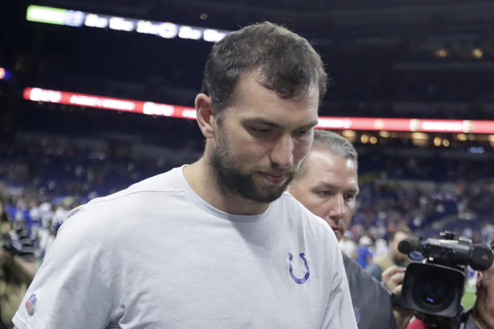 Despite waves of criticism, Doug Gottlieb didn't back down from his ridiculous take on Andrew Luck's retirement on Monday — and went on a nearly five-minute long rant about millennials.