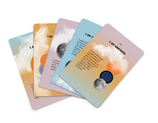 "These <a href=""https://iamandco.com/shop/i-am-affirmation-cards"" target=""_blank"" rel=""noopener noreferrer"">$15 beautifully designed I Am & Co cards</a> keep their namesake promise: They provide anyone who needs an uplifting reminder (so, most of us this year) with 30 affirming statements, including ""I am resilient"" and ""I am grateful."""