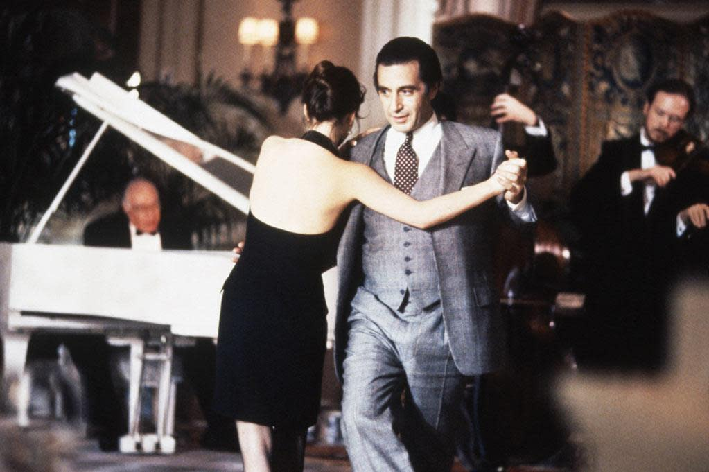 Role Recall Al Pacino Looks Back At The Godfather Films Scent