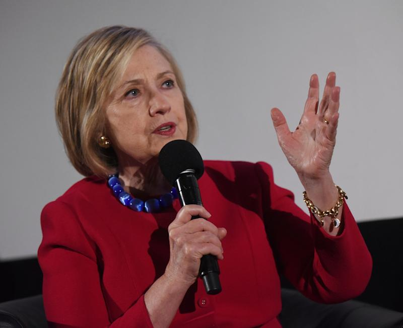 Hillary Clinton speaks out on British media's coverage of Meghan Markle