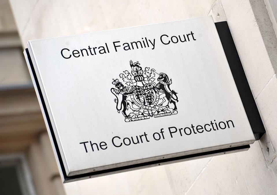 A general view of The Court of Protection (Nick Ansell/PA) (PA Archive)