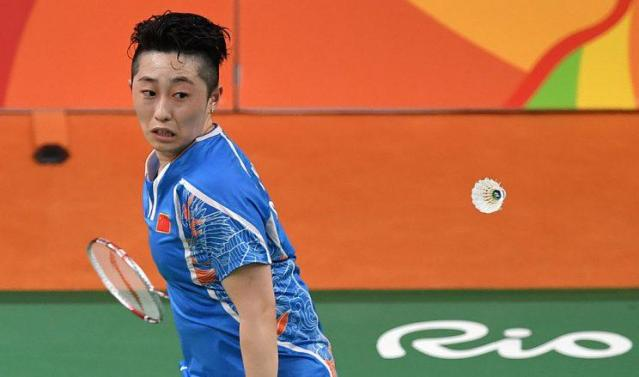 China's Yu Yang (ED JONES/AFP/Getty Images)