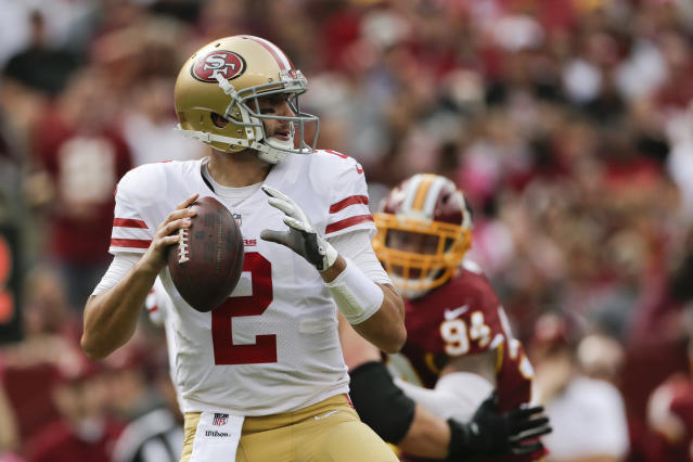 Quarterback Brian Hoyer has signed with the New England Patriots. (AP)