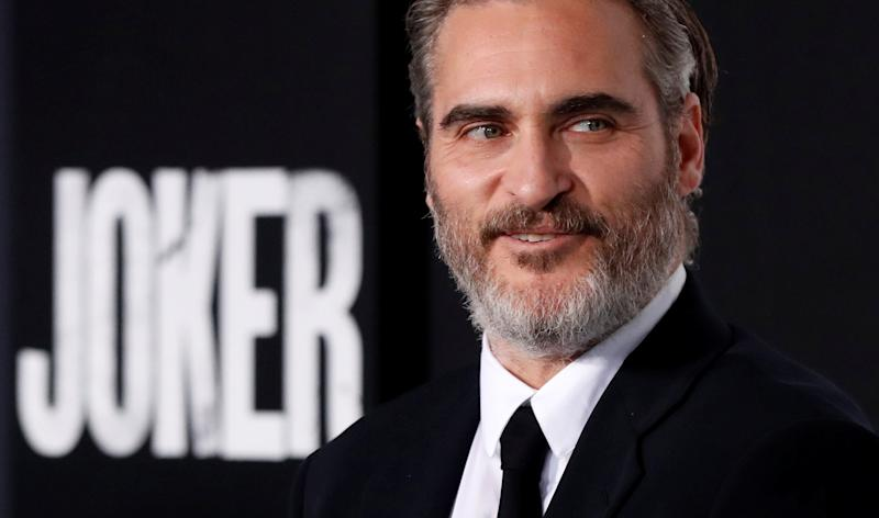 "Joaquin Phoenix attends the premiere for the film ""Joker"" in Los Angeles, California, U.S., September 28, 2019. REUTERS/Mario Anzuoni"