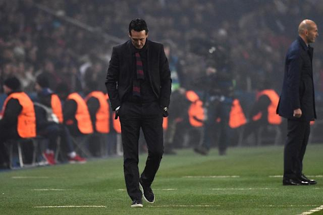 Unai Emery's PSG side might have suffered the costliest injury in the history of world soccer. (AFP)