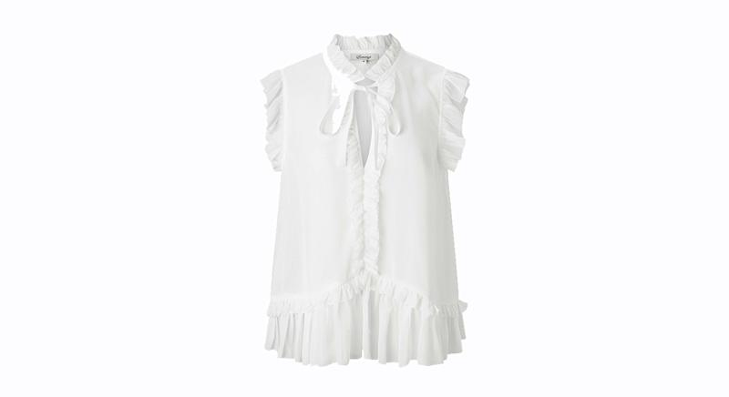 Somerset by Alice Temperley Frill Sleeveless Blouse