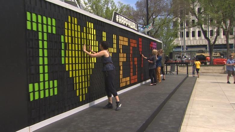 Canada's first Happy Wall comes to Edmonton