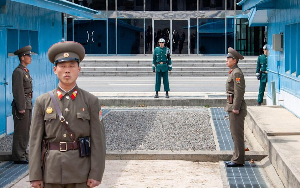 Restrictions on movement were once the sole preserve of countries like North Korea - Getty