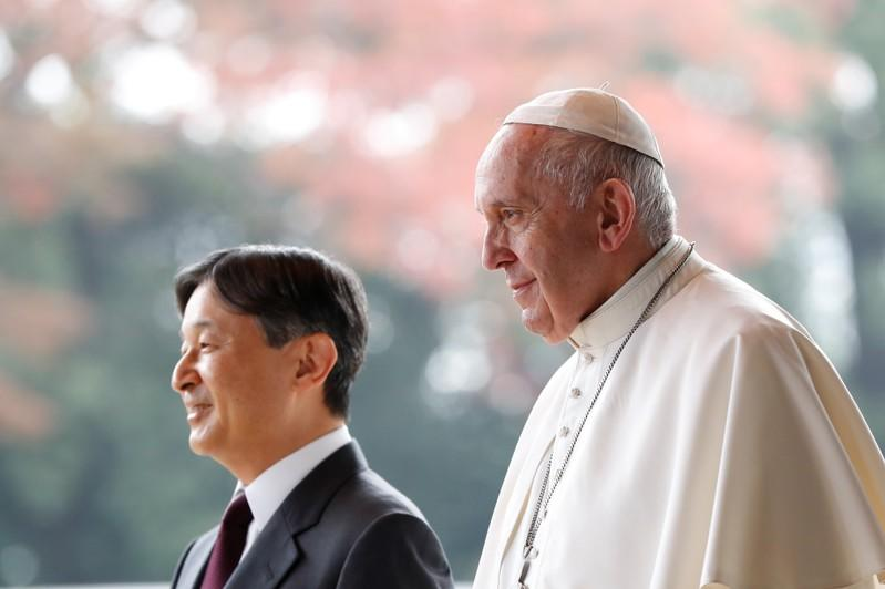 Pope Francis in Japan