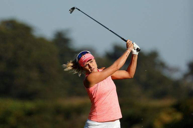 American Lexi Thompson is the 54-hole leader at the US Women's Open at Olympic Club in San Francisco