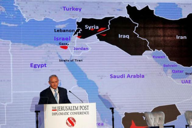 Netanyahu says Israel expanding Middle East ties, but not with Iran