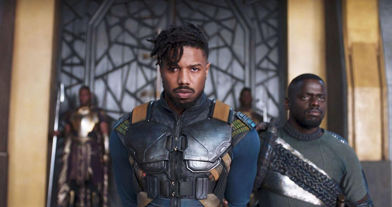 <p>There's a reason why it's the first Marvel movie to be nominated for Best Picture. Ryan Coogler's take on the adventures of T'challa, the super-powered warrior king of the fantastical African kingdom of Wakanda, reimagines the classic superhero conflict—tolerant, cooperative hero vs. absolutist, go-it-alone nemesis—as a debate about the legacy of racism, poverty, and direct action. And in Michael B. Jordan's Killmonger, the film gives us one of the most charismatic superhero movie villains ever—so much so that it's hard sometimes <em>not</em> to root for the ostensible bad guy.</p>