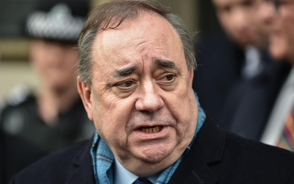 Alex Salmond has been told he cannot mention some documents obtained ahead of his criminal trial - Jeff J Mitchell/Getty