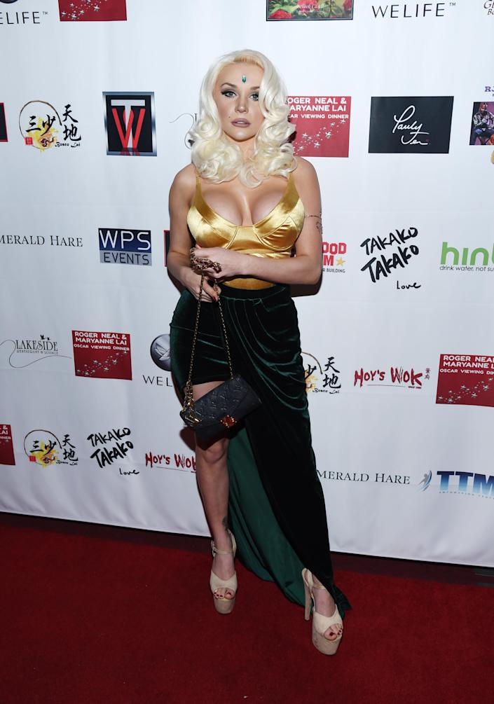 Courtney Stodden wrote a song about the weeks she dated Brian Austin Green. (Photo: Amanda Edwards/Getty Images)