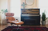Put a rug down to prevent losing heat through the floor (plus it feels warmer on your feet). [Photo: Pexels]