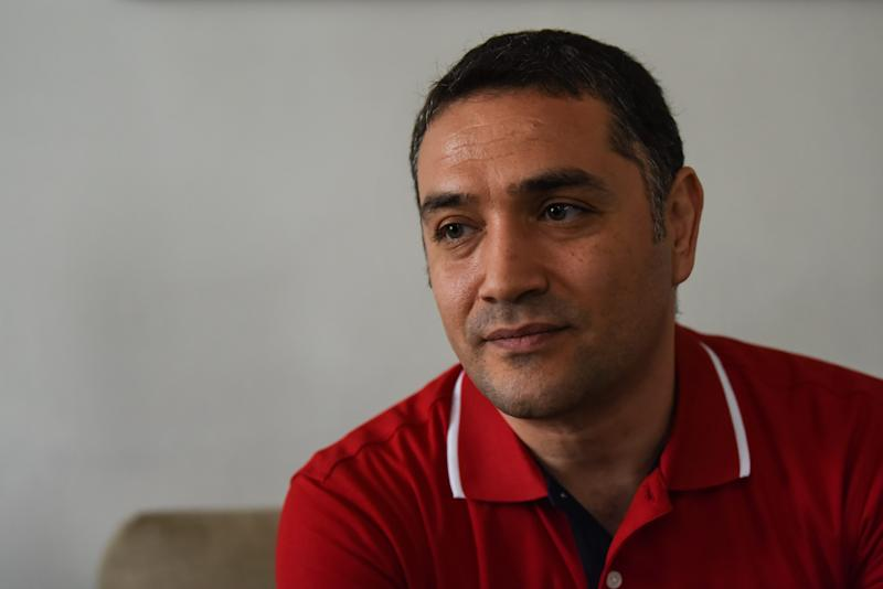 Yasin Atik is one of hundreds of people who have fled Turkey since 2016 because of political persecution and sought asylum in New Jersey. Atik tells his story at his Clifton, New Jersey, home on Aug. 2, 2019.
