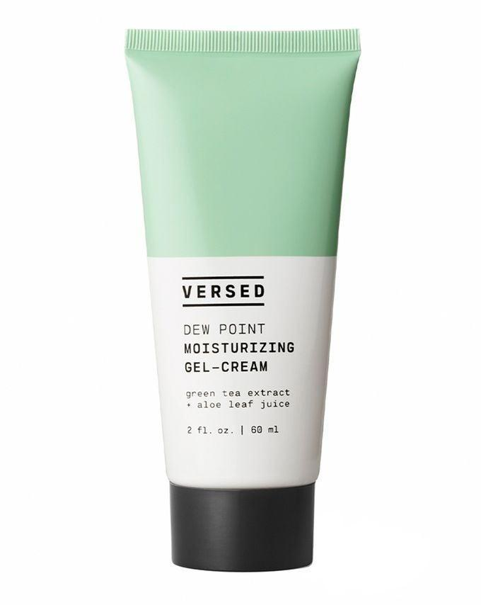 """<h2>Versed Dew Point Moisturising Gel Cream</h2><br>If you want to simplify your routine but the idea of paring it down to just two or three products gives you FOMO, Versed has you covered with a stripped back range of targeted serums and lightweight moisturisers. Head to Cult pick and choose what products work best for your skin. We rate the Dew Point Moisturizer for oily, acne-prone skin. <br><br><strong>Versed</strong> Dew Point Moisturizing Gel-Cream, $, available at <a href=""""https://www.cultbeauty.co.uk/versed-dew-point-moisturizing-gel-cream.html"""" rel=""""nofollow noopener"""" target=""""_blank"""" data-ylk=""""slk:Cult Beauty"""" class=""""link rapid-noclick-resp"""">Cult Beauty</a>"""