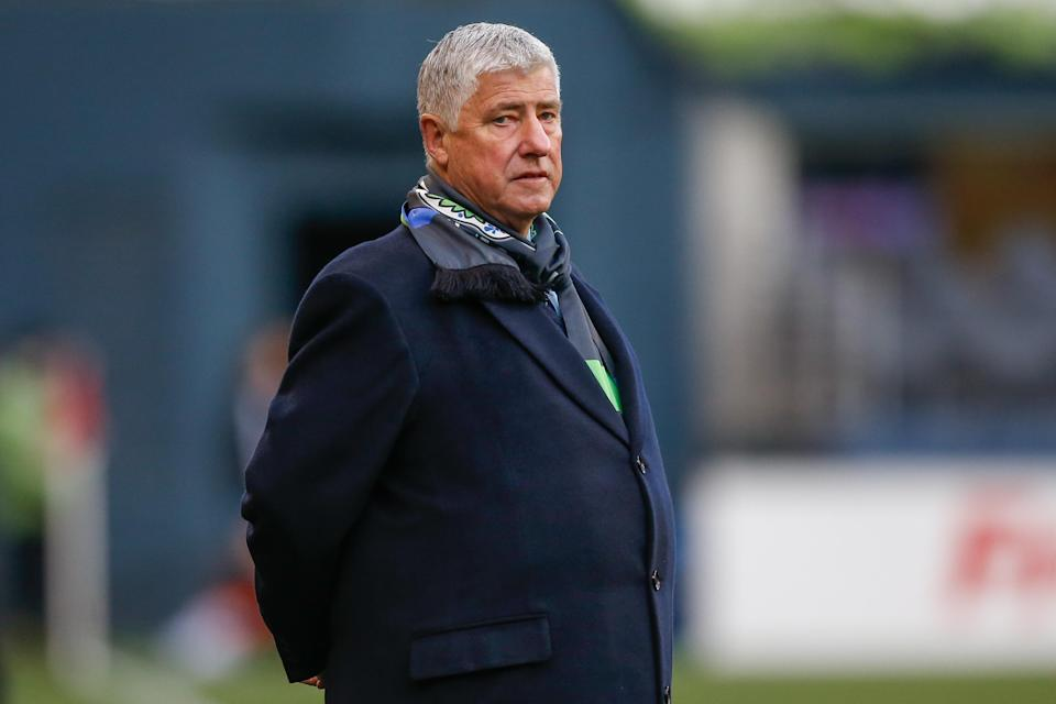 "<a class=""link rapid-noclick-resp"" href=""/football/sigi-schmid.html"" data-ylk=""slk:Sigi Schmid"">Sigi Schmid</a> won three national championships with UCLA and two MLS Cup titles as the league's all-time coaching winner. (Getty)"