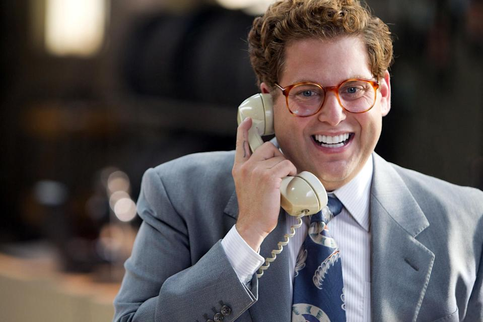 Jonah Hill in 'The Wolf of Wall Street'