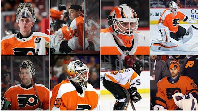 Talbot To Help Flyers Make Nhl History As Eighth Goalie Used This Season