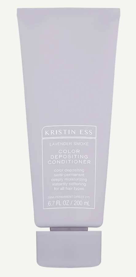 Kristin Ess Colour Depositing Conditioner in Lavender Smoke