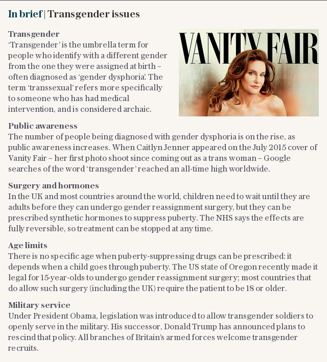 In brief | Transgender issues in the 21st Century