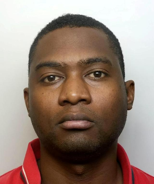 Joshua Banana was jailed for 10 years and nine months after being convicted of rape (Picture: SWNS)