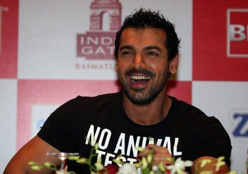 """Vicky Donor"", produced by John Abraham (pictured), will be released on Friday"