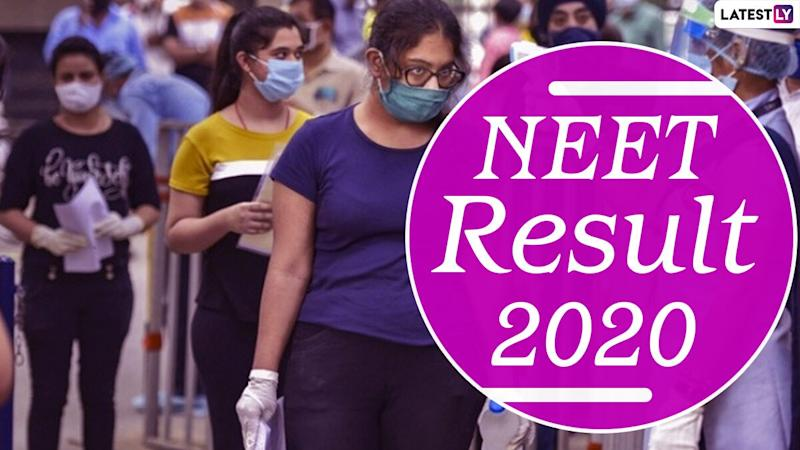 NEET 2020 Merit List: Here's How to Check Your Result and AIR Merit List Online at ntaneet.nic.in