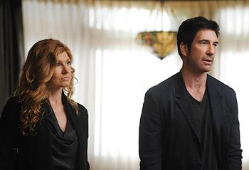 Connie Britton and Dylan McDermott face a real housing crisis on 'American Horror Story' (Robert Zuckerman/FX)