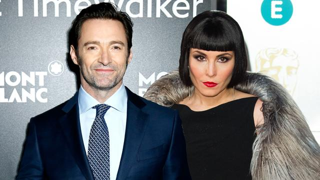 Hugh Jackman and Noomi Rapace